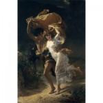 Puzzle  Dtoys-72740-CO01-(72740) Pierre-Auguste Cot: The Storm, 1880