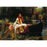 Puzzle  Dtoys-72757-WA01 Waterhouse John William: The Lady of Shalott