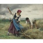 Puzzle  Dtoys-72788-DU-01 Julien Dupré: The Harvesting of the Hay