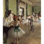 Puzzle  Dtoys-72801-DE-02 Degas Edgar: The Dance Class