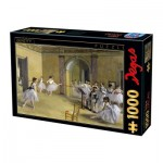 Puzzle  Dtoys-72801-DE03 Edgar Degas - The Dance Foyer at The Opera