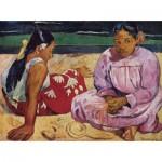 Puzzle  Dtoys-72818-GA01-(72818) Gauguin Paul: Tahitian Women on the Beach