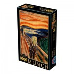 Puzzle  Dtoys-72832-MU01-(72832) Munch Edvard: The Scream
