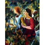 Puzzle  Dtoys-72863-MA-02 August Macke: Two Girls