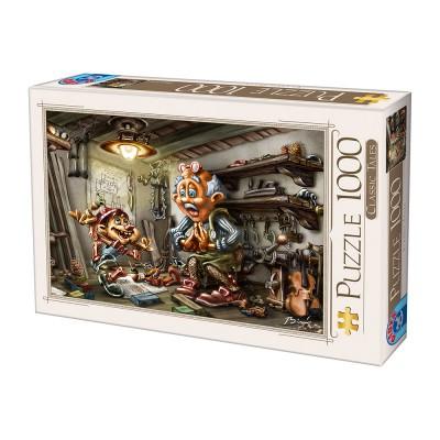Puzzle Dtoys-72894 Biro Donat: Pinnochio