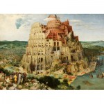 Puzzle  Dtoys-72900-BR-01 Brueghel Pieter: Tower of Babel, 1563