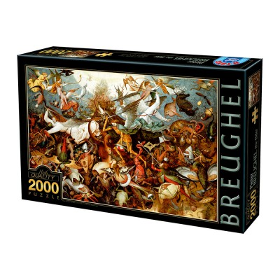 Puzzle Dtoys-72900 Brueghel Pieter: The Fall of the Rebel Angels, 1562