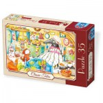 Puzzle  Dtoys-72948-EM-02 Little Red Riding Hood