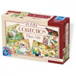 Dtoys-73006-EM 4 Jigsaw Puzzles - Tales and Legends