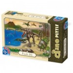 Puzzle  Dtoys-73013-DP-01 Dinosaurs