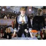 Puzzle  Dtoys-73068-MA-01 Manet Édouard: A Bar at the Folies Bergère, 1882