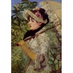 Puzzle  Dtoys-73068-MA02-(73068) Manet Édouard: The Spring