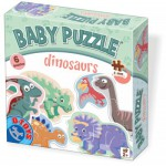 Dtoys-73075-BP-01 6 Jigsaw Puzzles - Baby Puzzle - Dino