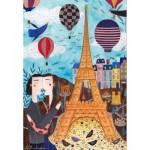 Puzzle  Dtoys-73730 Kurti Andi - Paris
