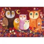 Puzzle  Dtoys-73747 Kurti Andi - Owls