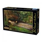 Puzzle  Dtoys-73815-MI01 John Everett Millais - Ophelia