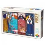 Puzzle  Dtoys-73860 Kurti Andi - Collage