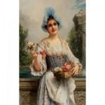 Puzzle  Dtoys-73921 Léon François Comerre - The Flower Seller