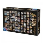 Puzzle  Dtoys-74331 Collage - Owls