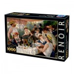 Puzzle  Dtoys-74584 Auguste Renoir - Luncheon of the Boating Party