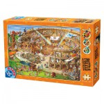 Puzzle  Dtoys-74676 Cartoon Collection - Colosseum