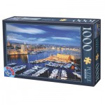 Puzzle  Dtoys-74720 Port of Marseille, France