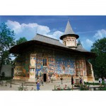 DToys-74751 Jigsaw Puzzle - 1000 Pieces - Romania : Voronet Monastery