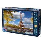 Puzzle  Dtoys-74805 Eiffel Tower, Paris