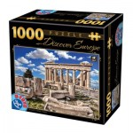 Puzzle  Dtoys-74867 Discover Europe - Acropolis