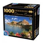 Puzzle  Dtoys-74881 Discover Europe - Como, Italy
