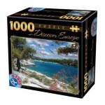 Puzzle  Dtoys-74898 Discover Europe - Corfu