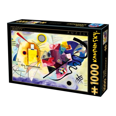 Puzzle Dtoys-75123 Kandinsky Vassily: Yellow, Red, Blue