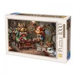 Puzzle  Dtoys-75222 Biro Donat: Little Red Riding Hood