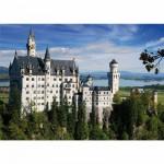 DToys-75307 Jigsaw Puzzle - 500 Pieces - Landscapes : Neuschwanstein Castle