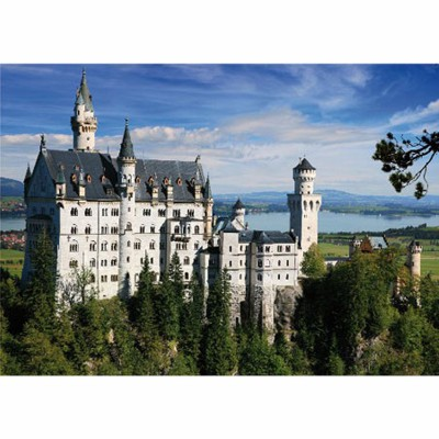 DToys-75307 Jigsaw Puzzle - 500 Pieces - Landscapes : Neuschwanstein Castle