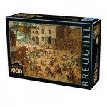 Puzzle  Dtoys-75857 Pieter Brueghel