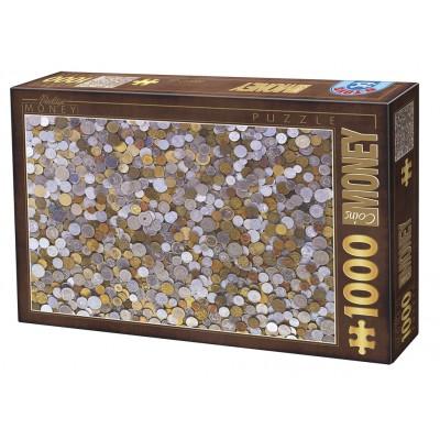 Puzzle Dtoys-76441 Vintage Collection - Money