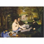 Dtoys-76458 Jigsaw Puzzle - 1000 Pieces - Impressionism - Manet : Breakfast on the Grass