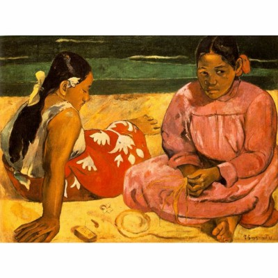 Dtoys-76465 Jigsaw Puzzle - 1000 Pieces - Impressionism - Gauguin : Tahitian Women on the Beach