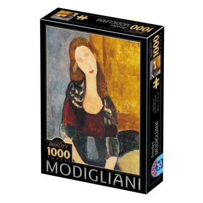 Puzzle Dtoys-77400 Modigliani Amedeo : Portrait of Jeanne Hébuterne