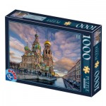 Puzzle  Dtoys-77776 Church of the Savior on Blood - Saint Petersburg