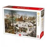 Puzzle   Breughel the Elder - The numbering at Bethlehem