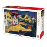 Puzzle   Kandinsky - Murnau Burggrabenstrasse