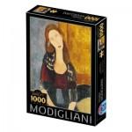 Puzzle   Modigliani Amedeo : Portrait of Jeanne Hébuterne