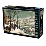 Puzzle   Pieter Brueghel the Elder - Hunters in the Snow