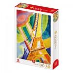 Puzzle   Robert Delaunay - Eiffel Tower