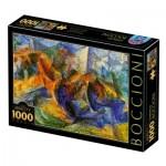 Puzzle   Umberto Boccioni - Horse-Rider-Buildings