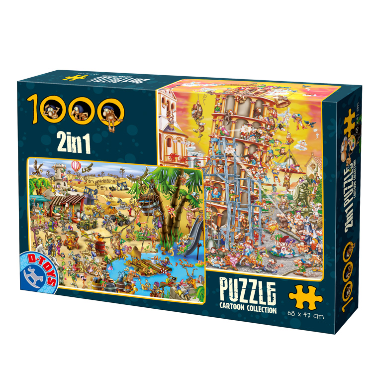 puzzle dtoys 67760 cc 03 1000 pieces jigsaw puzzles humour and satire jigsaw puzzle