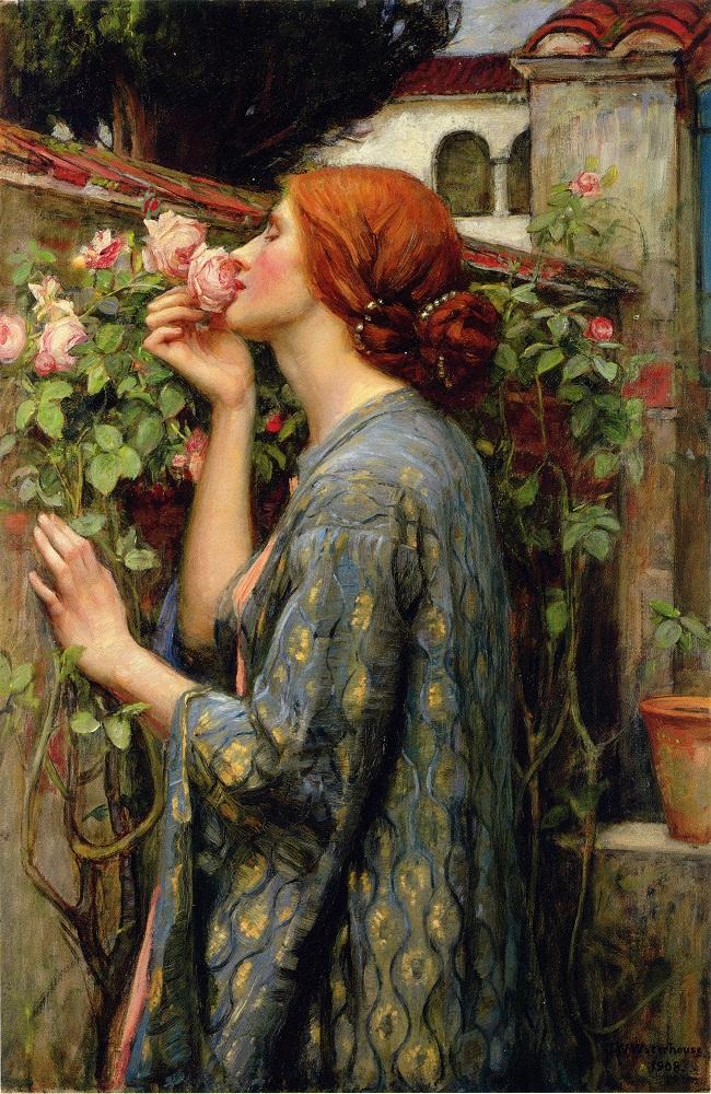 Waterhouse John William: The Soul of the Rose