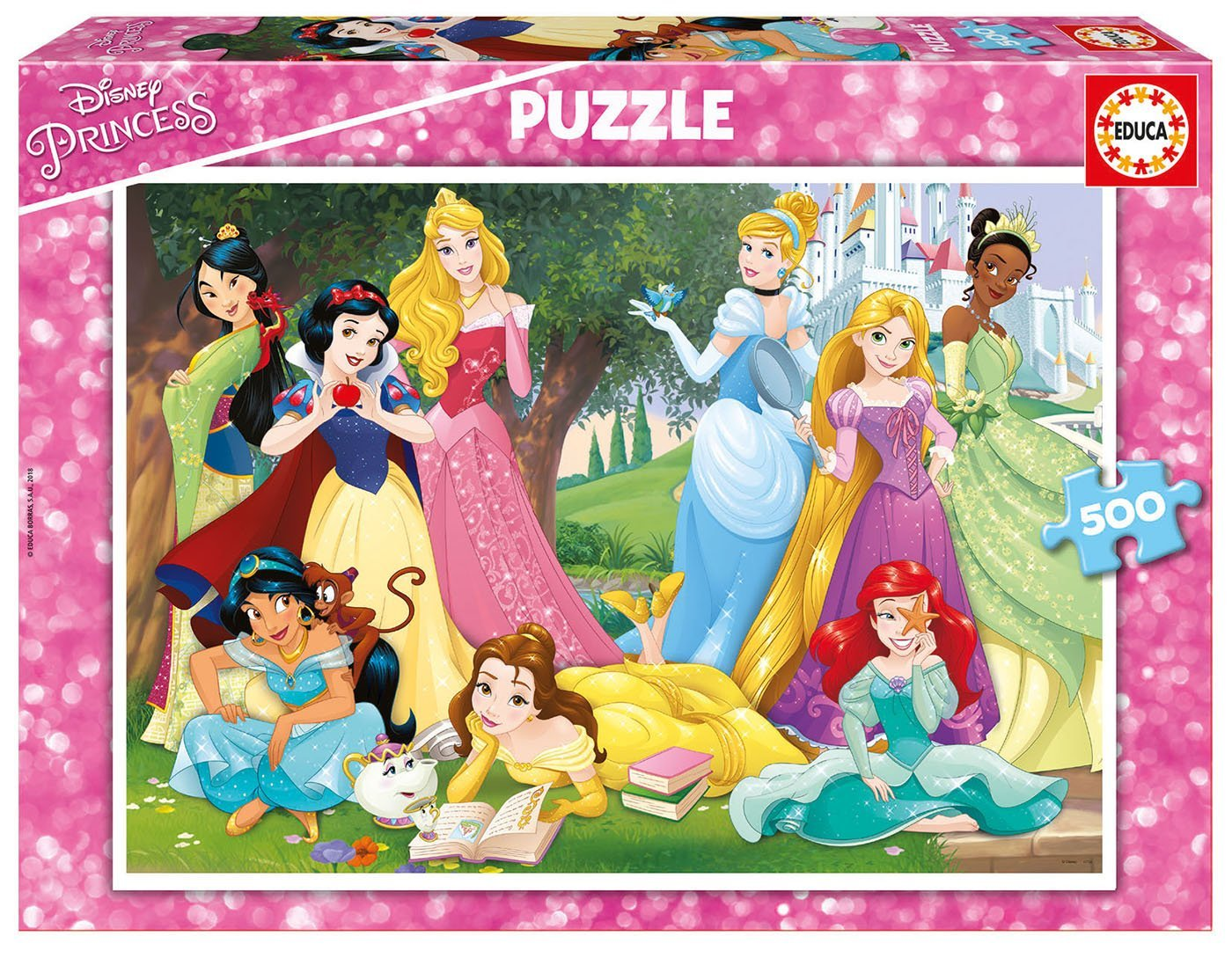 Puzzle Disney Princess Educa 17723 500 Pieces Jigsaw